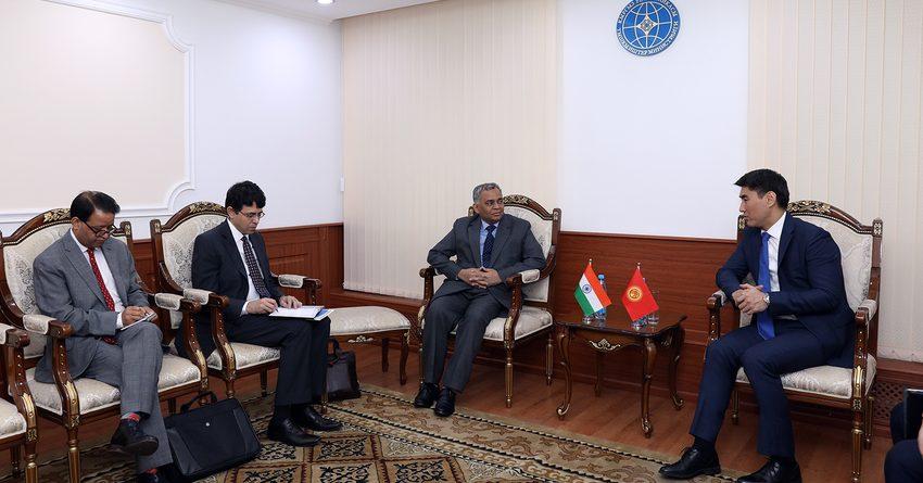 Кыргызстан и Индия обсуждают создание совместных предприятий