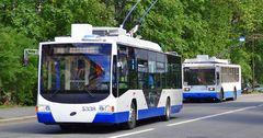 Атамбаев одобрил получение €8.4 млн у ЕБРР на покупку троллейбусов для Бишкека