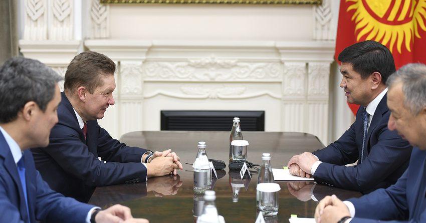 «Газпром» инвестировал в Кыргызстан 26.5 млрд рублей