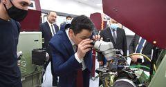 Улукбек Марипов посетил производство в Ташкенте