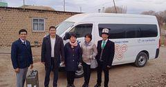 В Кочкорском районе начал работать мобильный ЦОН