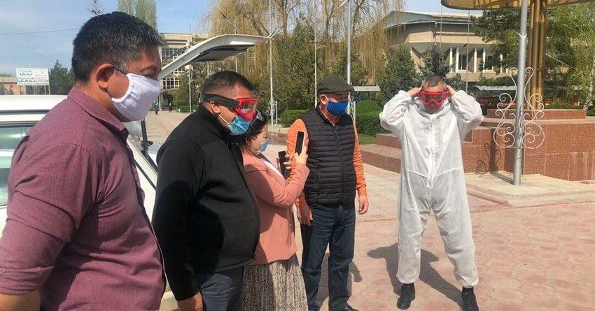 Медработники Таласской области получили гумпомощь от «Альянс Алтына»