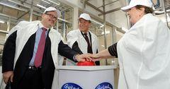 На заводе Бишкексут запущена линия, которая производит 7 тонн творога в сутки
