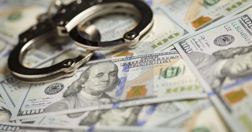 За девять месяцев 2020 года зарегистрировано 727 экономических преступлений
