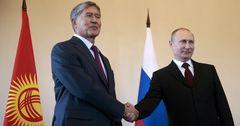 Атамбаев и Путин обсудят взаимодействие по линии ЕАЭС