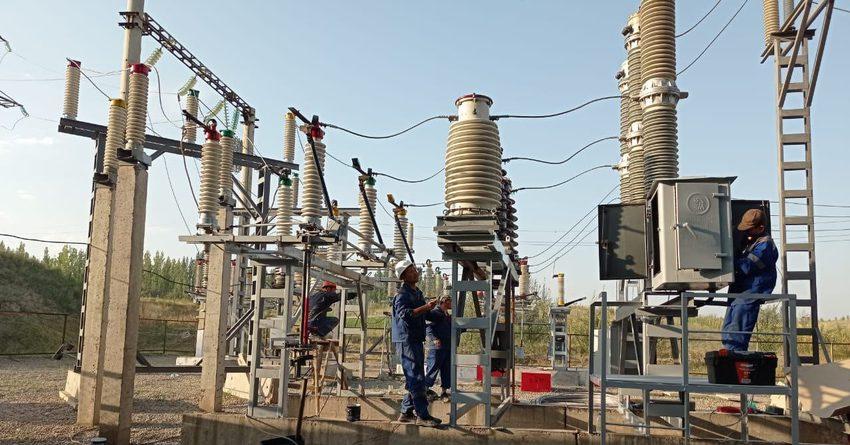 В Джалал-Абадемодернизированы четырекрупныхвысоковольтных подстанции