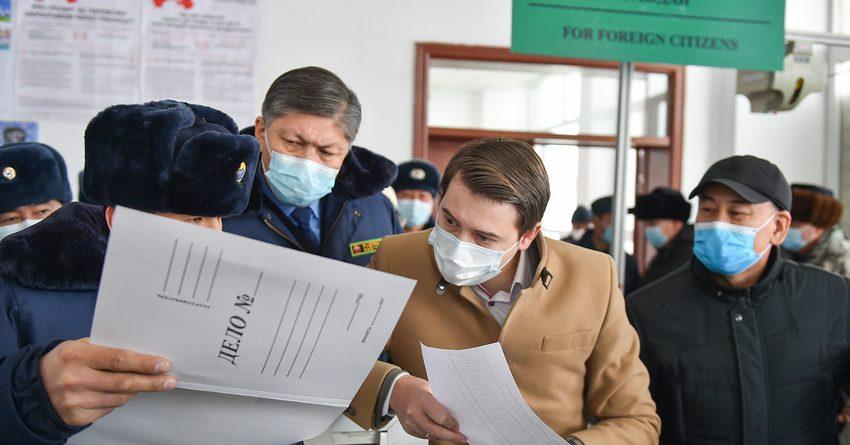Артем Новиков указал на недостатки на КПП «Иркештам»