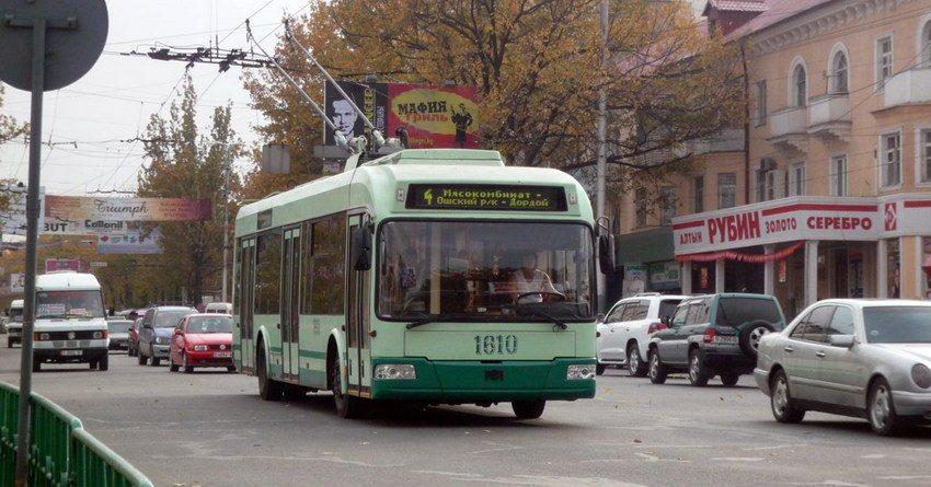 Бишкек закупит 50 новых троллейбусов на кредит и грант ЕБРР