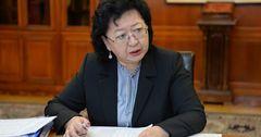 Министр финансов КР завела свой аккаунт в Facebook