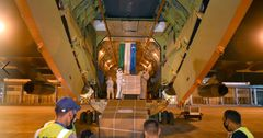 В Кыргызстан прибыл гуманитарный груз из Узбекистана