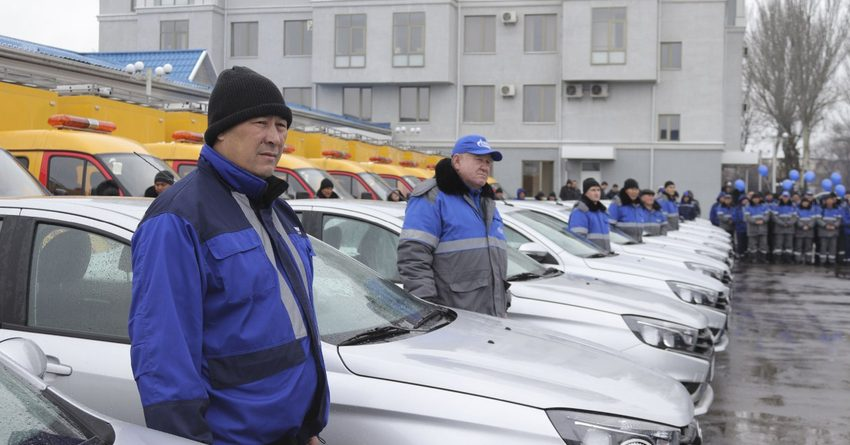 Развитие газовой отрасли: новая специализированная техника «Газпром Кыргызстан»