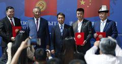 На бизнес-форуме «Кыргызстан – Китай» подписаны документы на $7 млрд