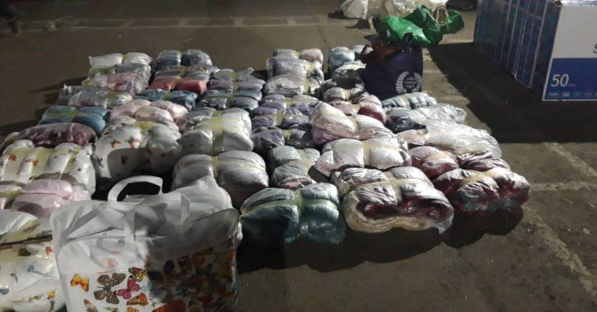 Пограничники задержали контрабанду на сумму более 350 тысяч сомов