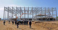 Нареконструкциюипподрома для Игр кочевников открытофинансированиена 988млнсомов