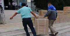 «Газпром Кыргызстан» передал кислородные концентраторы и СИЗ медучреждениям Оша