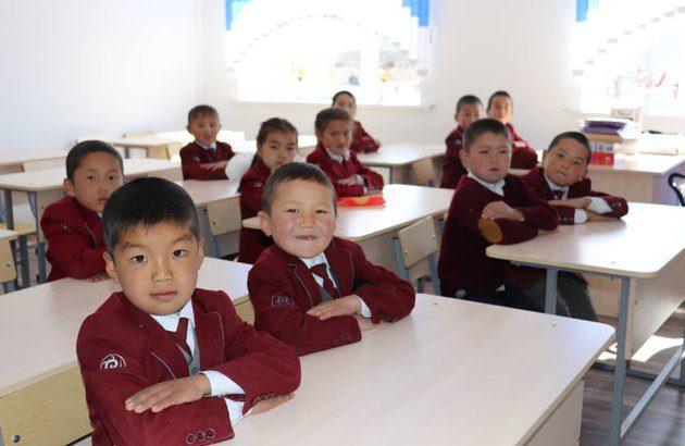 В Нарыне открыли школу за $120 тысяч