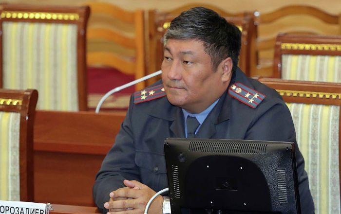 Комендантом города Бишкека назначен Алмаз Орозалиев