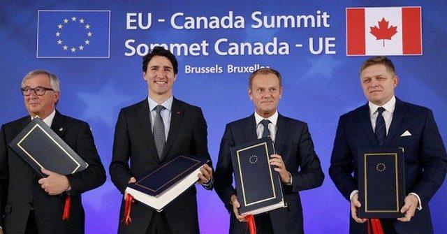 ЕС и Канада отменяют 99% таможенных пошлин