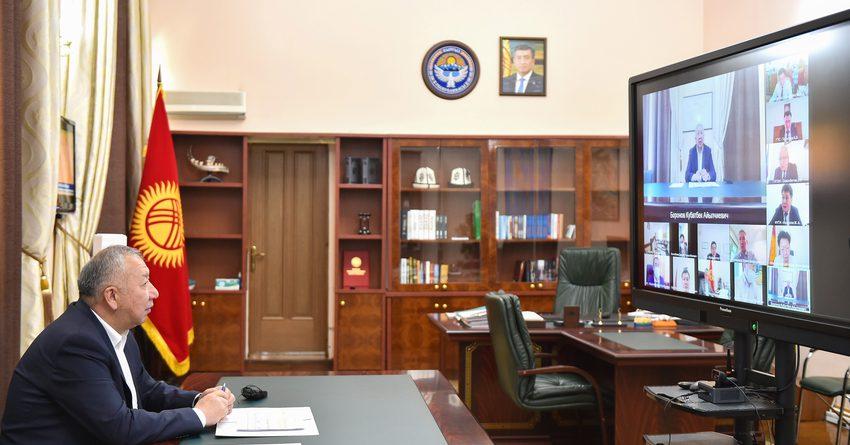Боронов: Пополнение бюджета – это задача не только ГНС, но всех органов власти