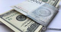 Официальный курс доллара к сому вырос на 1.7%, рубля — на 3.1%