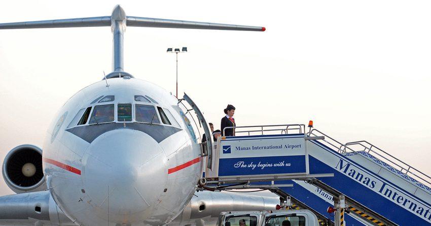 В КР отменили все международные рейсы