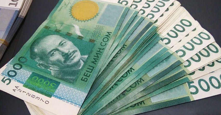 В июле дефицит бюджета составит 2.8 млрд сомов