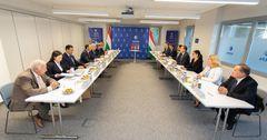 Венгрия поделится с КР опытом продвижения МСБ