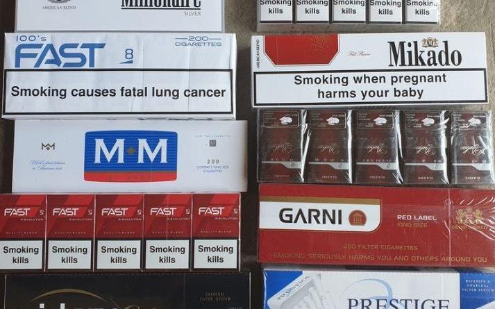В КР конфискованы сигареты на сумму $1 млн