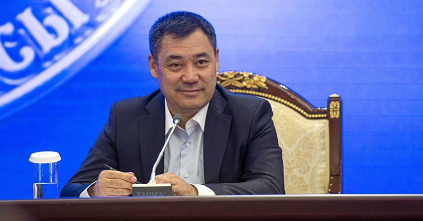 Садыр Жапаров отказался от пышной инаугурации