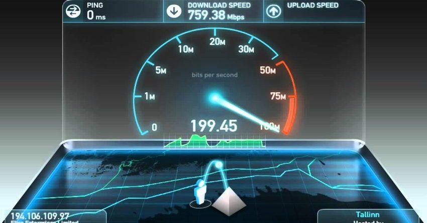 КР в рейтинге стран по скорости широкополосного интернета занял 76-е место