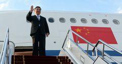 Си Цзиньпин прибыл с госвизитом в Кыргызстан