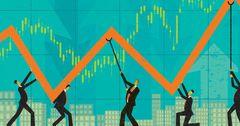 Торги на рынке ценных бумаг за неделю выросли на 85%