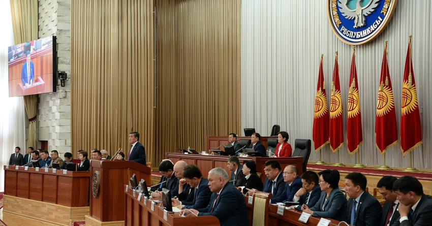 Сооронбай Жээнбеков раскритиковал работу Национального банка