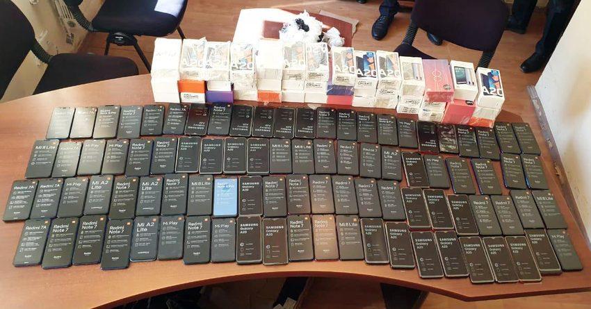 ГТС задержала контрабанду на 1.5 млн сомов