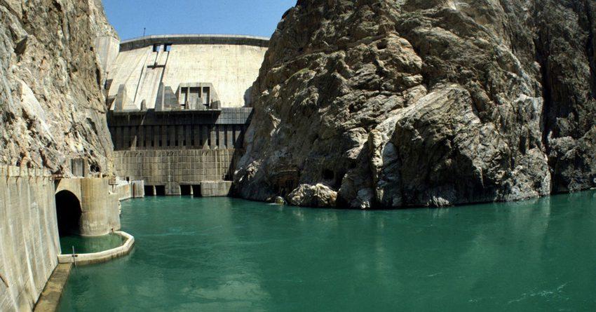 4-сентябрга карата Токтогул суу сактагычында14 млрд 956 млн куб метр суу бар
