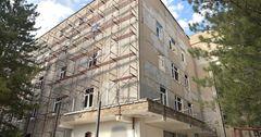 Ремонт больницы в Токмоке завершат до конца месяца