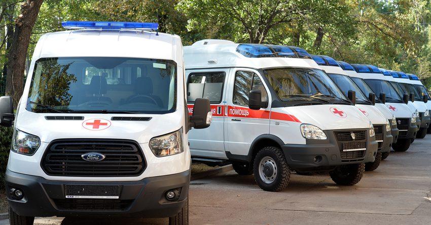 Минздрав закупил 13 машин скорой помощи на $765 тысяч