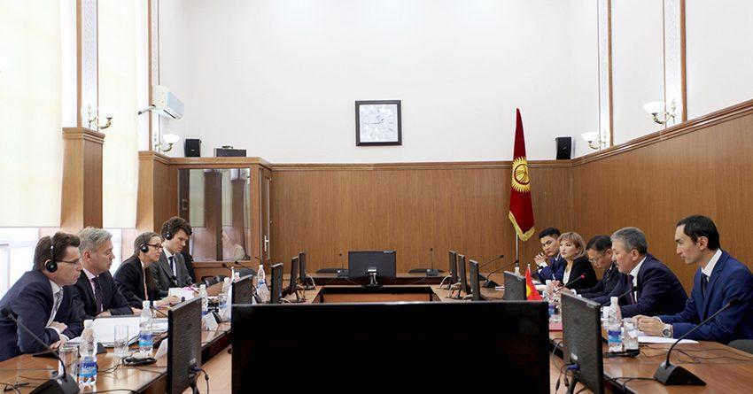 KfW финансирует проекты в Кыргызстане более чем на $100 млн