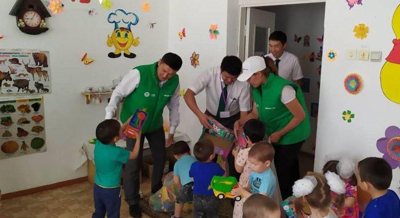 «Айыл Банк» поздравил детей с праздником