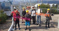 НЭСК провела экскурсии для участников энергетической смены #ВместеЯрче