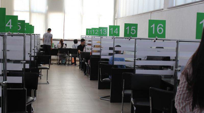 В ЦОНах Бишкека появились зоны самообслуживания