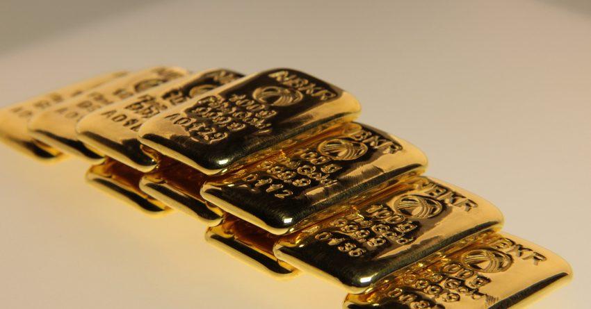 За выходные цена на граммовые золотые слитки Нацбанка КР повысилась на 21.5 сома
