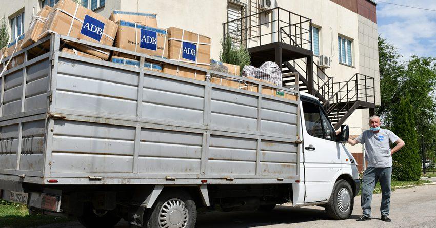 АБР поставил в КР более 2.5 млн единиц СИЗ