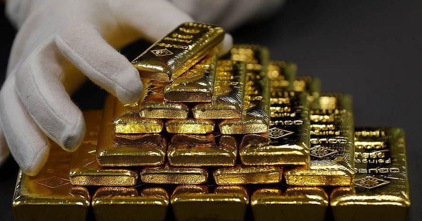 На фоне снижения курса доллара США в КР унция золота подешевела на 2.2%