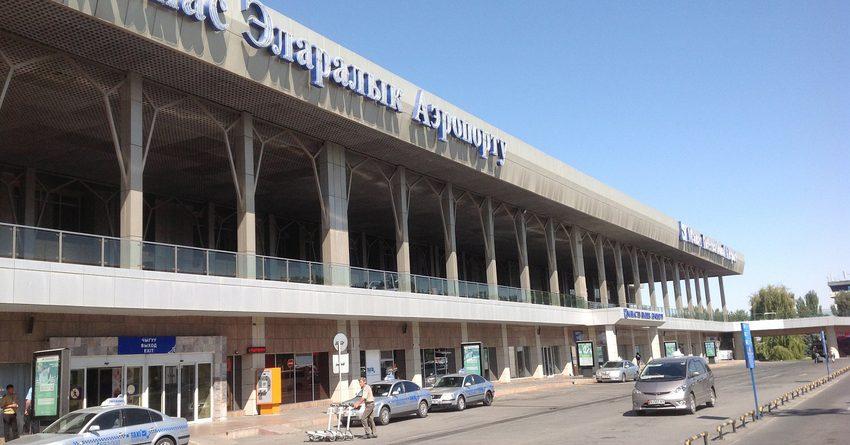 В аэропорту «Манас» задерживают рейсы