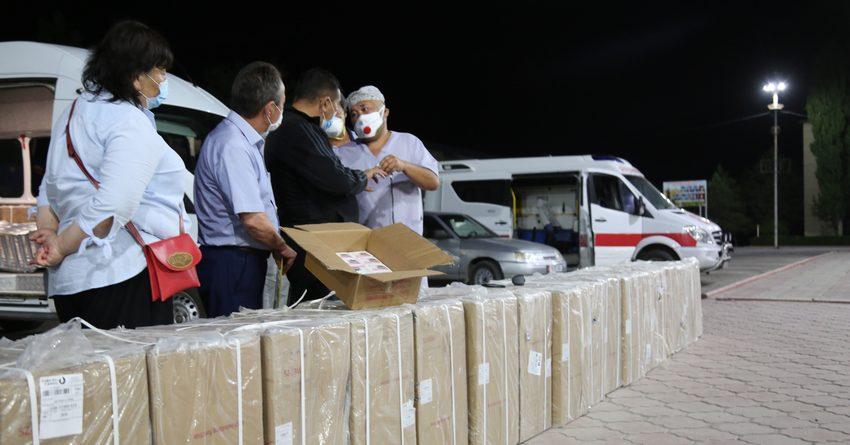 «Альянс Алтын» передал Таласской области аппараты неинвазивной вентиляции легких