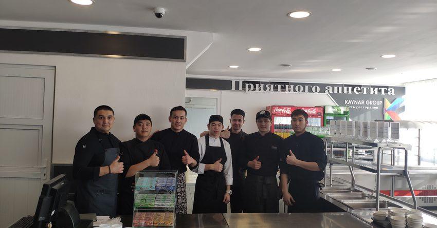 Сеть ресторанов Kaynar Group открыли в аэропорту «Манас» авиационное кафе
