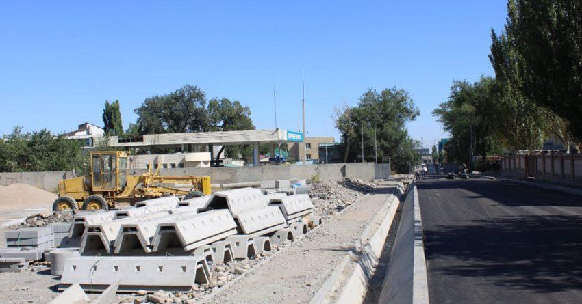 До ноября в Бишкеке отремонтируют 32 улицы