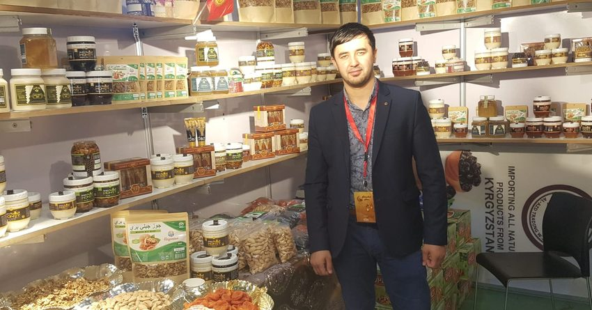 КР представила на ярмарке «Рамадан фестиваль» в Катаре мед и сухофрукты