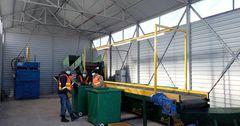 В Балыкчы заработал мусоросортировочный комплекс за 4.9 млн сомов